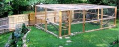 Catio - This is nice & roomy, which is good because I would want to be able to get in there with them!