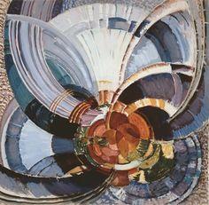 Frantisek Kupka. Study for Around a Point, 1911-1930.