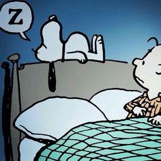 Bed time Snoopy