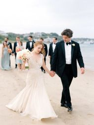 Elegant Cape Cod Wedding - Style Me Pretty