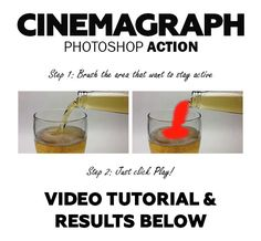 Cinemagraph Photoshop Action. Download here: http://graphicriver.net/item/cinemagraph-photoshop-action/15074553?ref=ksioks