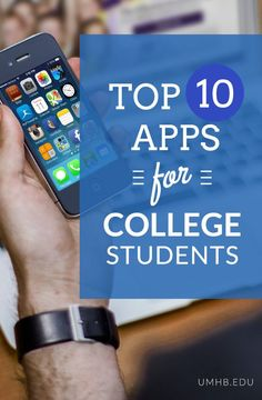 Top 10 #Apps for #College Students