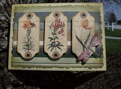 dragonfly card ideas   Dragonfly card
