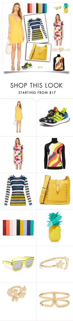 """""""Fahion power"""" by cate-jennifer ❤ liked on Polyvore featuring Oh My Love, adidas, Tory Burch, Emilio Pucci, Missoni, Rebecca Minkoff, Milly, Sunnylife, Givenchy and Ariel Gordon"""