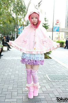 Kawaii japanese street fashion