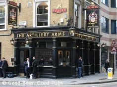 Artillery Arms, Old Street