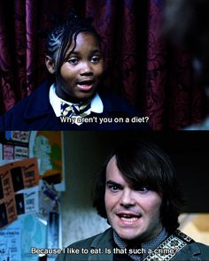 Jack Black explains it perfectly -- School of Rock