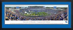 Kentucky Wildcats Panoramic Picture - Commonwealth Stadium Football Panorama - Deluxe Frame $199.95