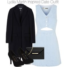 Lydia Martin Inspired Date Outfit by staystronng on Polyvore featuring Topshop, MSGM, MICHAEL Michael Kors, Qupid, date, LydiaMartin and tw