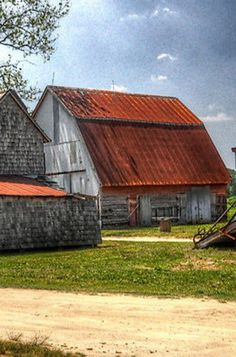 Red Roof Barn.