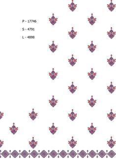 Multi / Flat Designs / Saree Designs / Design Code: 134845 / Stitch: 17746 / Area/width (in mm): 250 / Niddle/colour: 2 / Height (in mm): 957