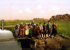 Dutch children 125 years ago.