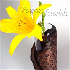 Vase Tutorial Scrap Polymer Clay, Polymer Tutorials