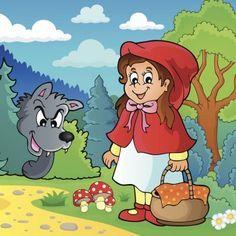 Cuento de Caperucita Roja. Cuentos tradicionales y nuevos publicados por los lectores. Cuento corto de caperucita roja, su abuelita y el lobo. Publica tu cuento en internet.