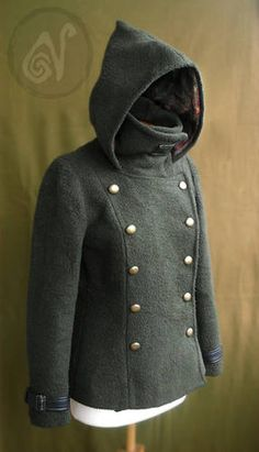 The Jacket - CLOTHING - Craftster.org Best of 2013 Winner