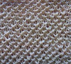 Granite knitting stitches