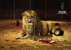 Roger Felis, de Barcelona, nos envió este anuncio de AXE. ¿Cómo lo ves?