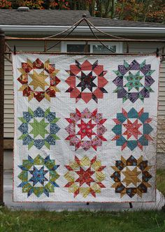 This blog post has LOTS of quilts made using the Swoon pattern!