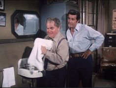 """Morry and Rockford.   From: """"A Fast Count""""."""