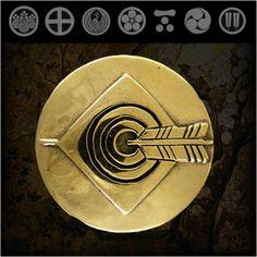 Samurai/Family/Japanese/Crest/Brass/Concho http://item.rakuten.co.jp/auc-wildhearts/cc2220/