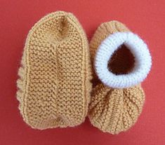 Ravelry: Anna's Booties pattern by Anna Testadoro