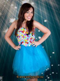 Dress buttons clown fairy - Las Fiestas