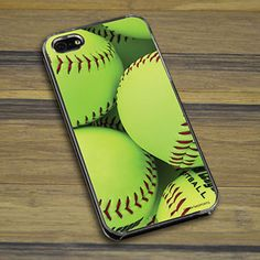 Softball iPhone/Galaxy Case Softball Graphic - This customizable protective case is the perfect accessory for any softball players phone. This great cell phone case fits the iPhone 4, iPhone 4S, iPhone 5, Samsung Galaxy S3, and Samsung Galaxy S4..