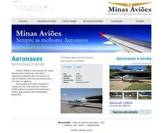 Minas Aviões: Site