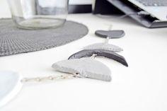 DIY - Dekoracja Fazy Księżyca. DIY - Moon Phases | Cleo-inspire Blog…