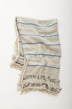 Handira Blanket // Anthropologie