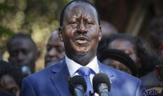 Kenya opposition chief urges voters to 'stay home' on election day