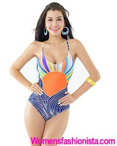 829b6a1591d30 2016 Summer New One Piece Swimsuit Print Swimwear For Women Bodysuit Slim Monokini  Bathing Suit Sexy Maillot De Bain Femme. Womens Fashionista