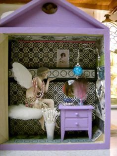 miniature room shadow boxes - Google Search