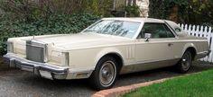 1979 Lincoln Continental Mark V Cartier Edition