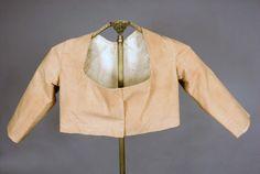 Lady's Tan Summer Jacket, France, c. 1820 Tasha Tudor Auction - whitakerauction
