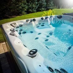 Hot Tub Backyard, Backyard Plan, Spa Store, Water Issues, Jet Pump, Hot Tub Cover, Pool Chlorine, Tub Cleaner, Moving Water