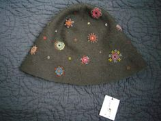 crochet - hat by Sophie Digard - maybe I do need to go back to work...