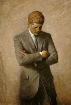 """""""Do not pray for easy lives. Pray to be stronger men."""" — John F. Kennedy"""