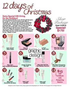 12 days of Christmas_Silver.png 850×1,100 pixels (Best Blush Christmas Gifts)