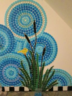 Mosaic Bathroom WIP | Flickr - Photo Sharing!