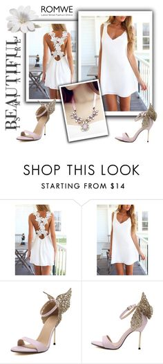 """ROMWE 10/2"" by melissa995 ❤ liked on Polyvore"