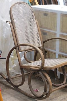 outdoor yesteryear wicker childs wicker rocking chair with cushion