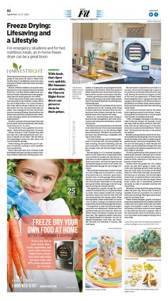 Freeze Drying: Lifesaving and a Lifestyle|Epoch Times #Health #Nutrition #newspaper #editorialdesign