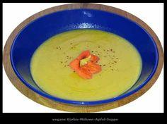 Velouté Potiron, Carotte, Pomme / Kürbis-Möhren-Apfel-Suppe #vegan #glutenfrei  #veganrockcity @StefanPeuser @Mj0glutenVG #0GlutenVegeBrest #vegane #Kürbis #Möhren #Apfel #Suppe #Velouté #Potiron #Carotte #Pomme