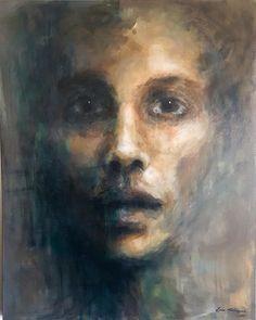 Acrylic on canvas by Lone Malmgren Original Paintings, Canvas, Art, Tela, Canvases, Kunst, Art Education, Burlap, Artworks