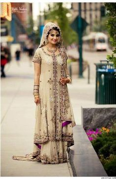 Latest and stylish collection of bridal anarkali suits and bridal lehenga. You will love the color combination and beautiful designs. Every girl has a dream to wear perfect dress on her wedding. Know you can also get inspiration from these designs and wear them on your wedding or any other occasion.