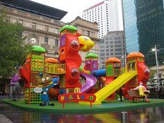 McDonald's Adult-Sized Playland pics) - My Modern Metropolis