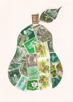 postage stamp pear