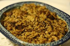 and wild rice with oh and except for rice with a mushroom long grain ...