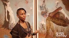 "Kenyan artist Wangechi Mutu takes Okayafrica TV on a private tour of her exhibition ""A Fantastic Journey"" at the Brooklyn Museum. Kenyan Artists, African Artists, Contemporary African Art, Popular Art, Art Studios, Black Art, Amazing Art, Brooklyn, Journey"